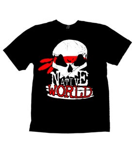 Image of Native World Skull Logo