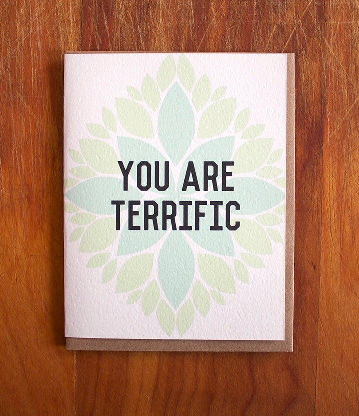 Image of You are Terrific