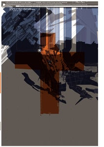Image of 'TDR™ vs Glasgow' A3 Litho Print