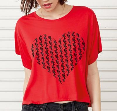 Image of Ladies BC Heart Tee