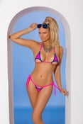 Image of two peice bikini with matching g string
