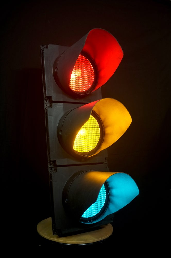 Image of Genuine Full Size London Traffic Light