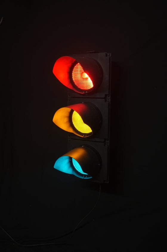 Image of Genuine Full Size London Traffic Light