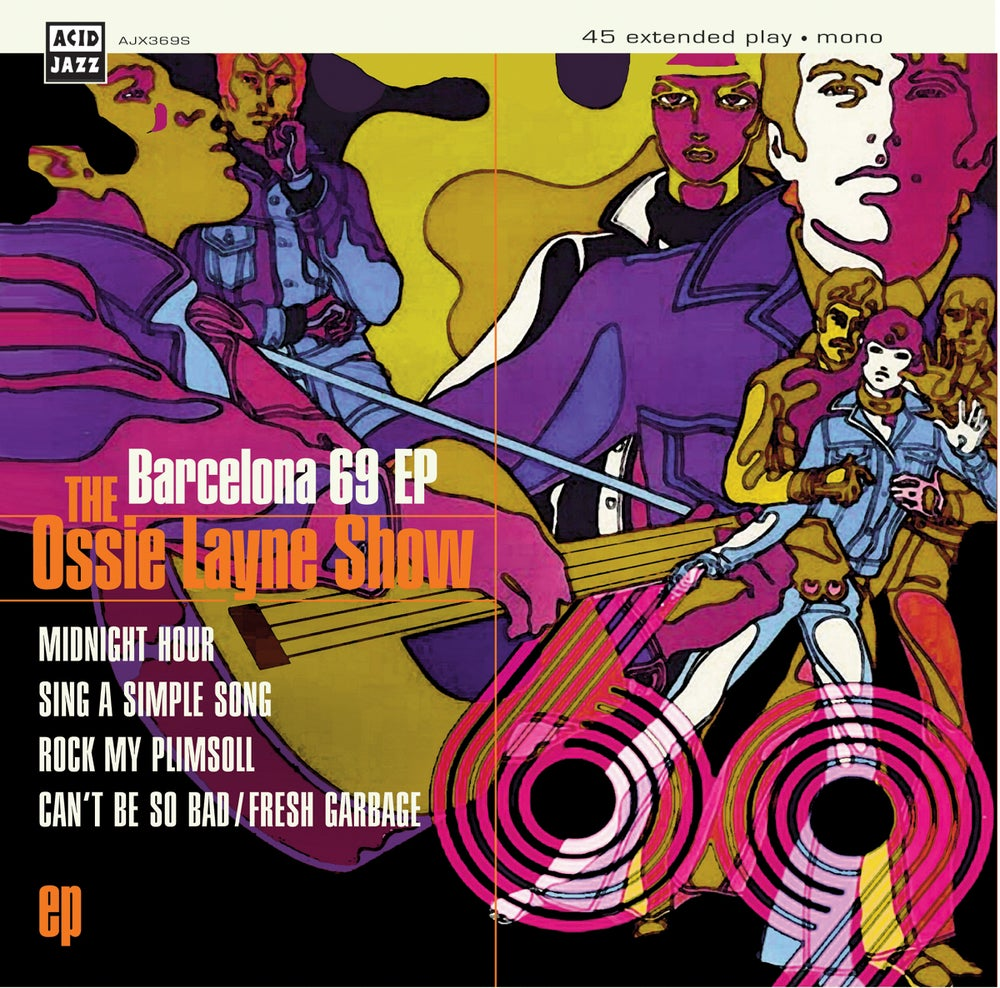 Image of The Ossie Layne Show - Barcelona 69 EP - Rare Mod