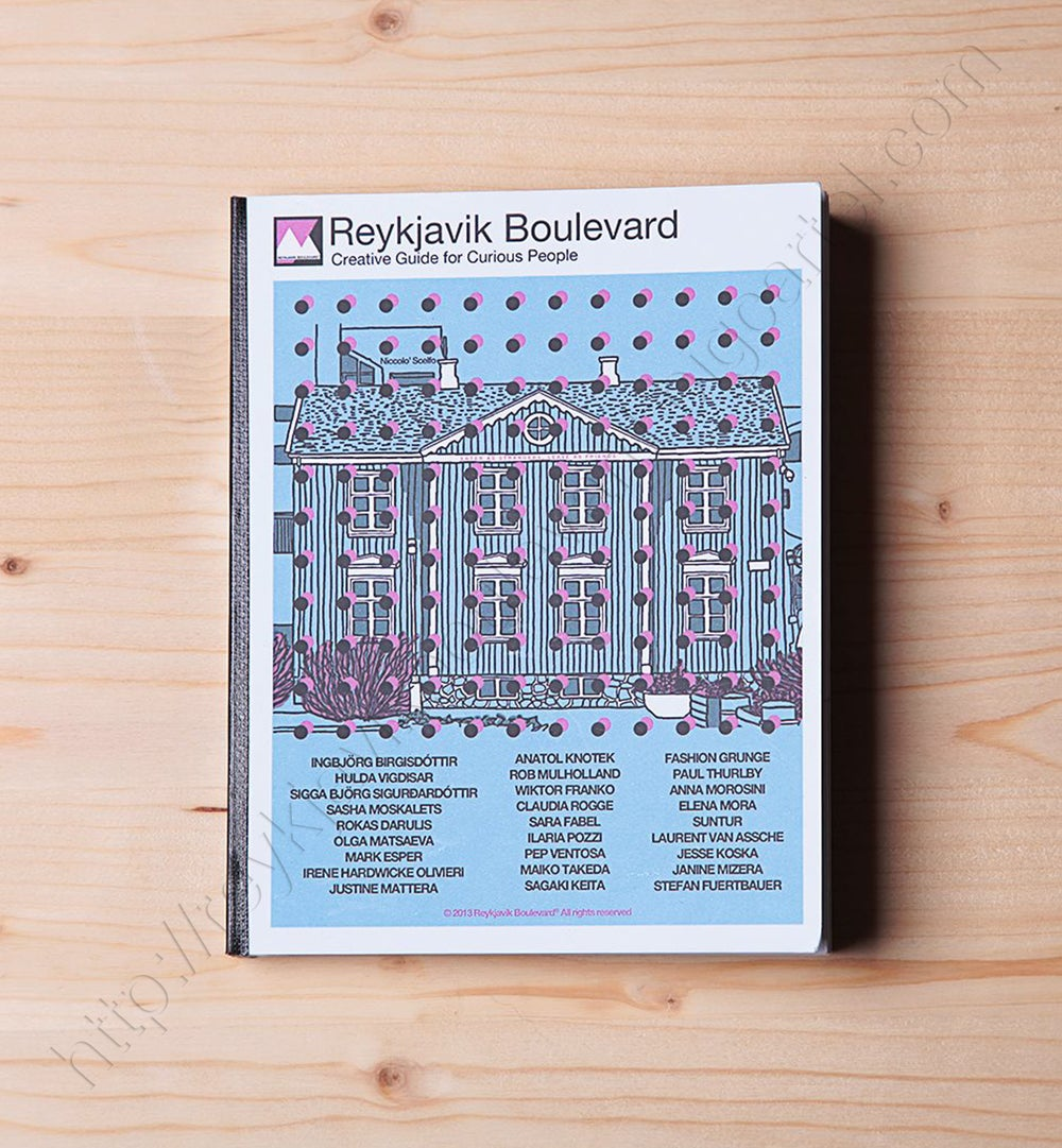 """Image of Reykjavik Boulevard """"Creative Guide for Curious People"""" - 162 pages"""