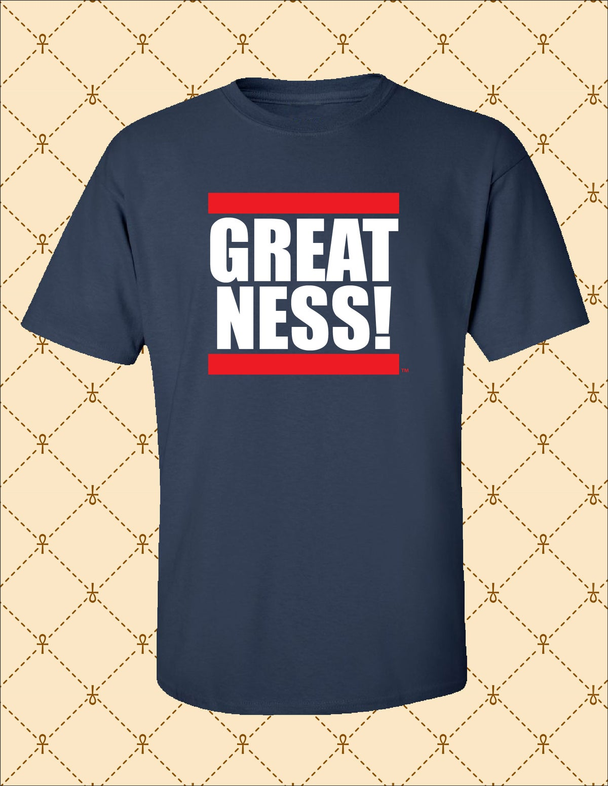 Image of Mens Greatness Logo Tee