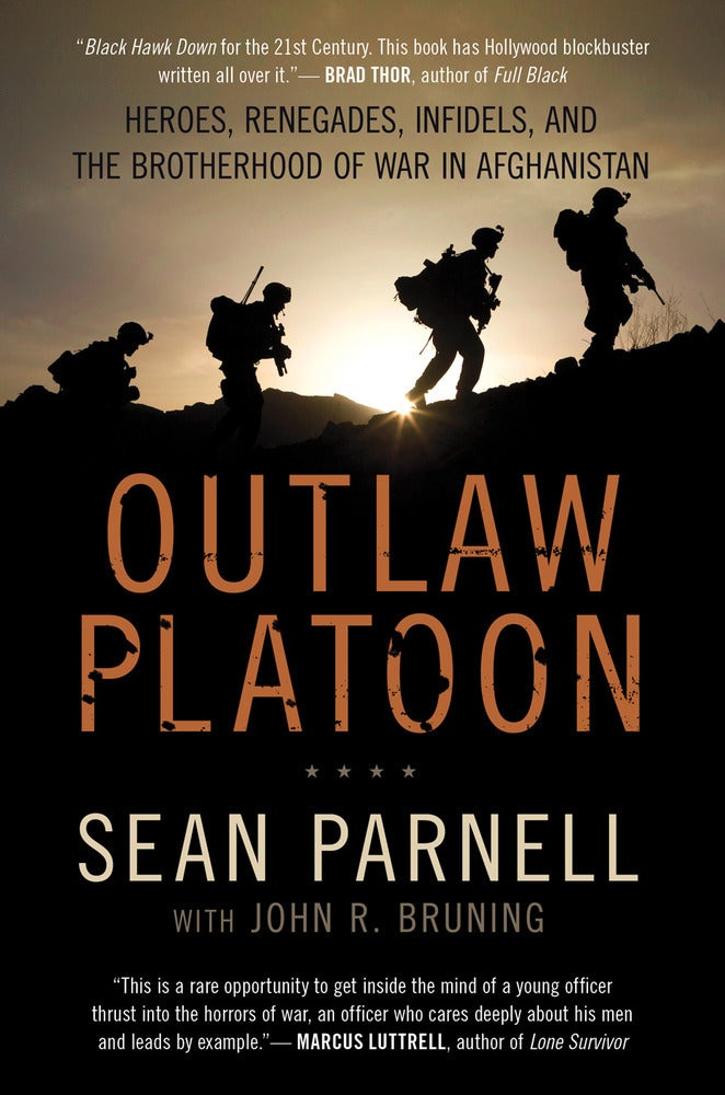 "Image of Signed Paperback Copy of ""Outlaw Platoon"""