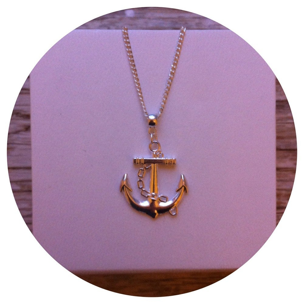 Image of Anchor Necklace