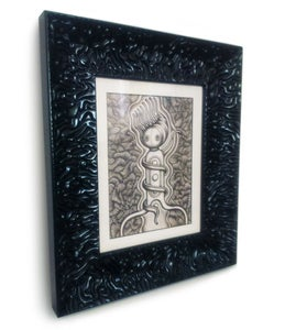 Image of 'The Twizter' - Framed Original