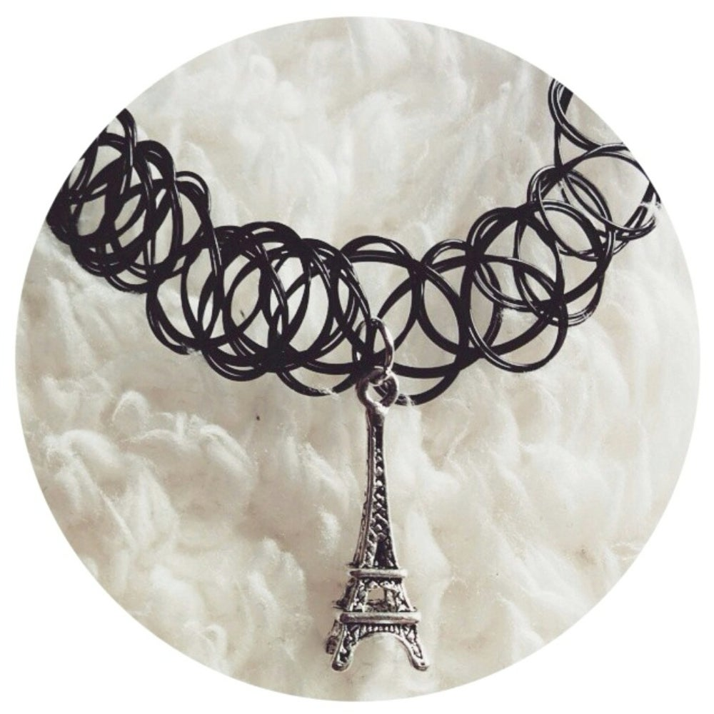 Image of Eiffel Tower Choker