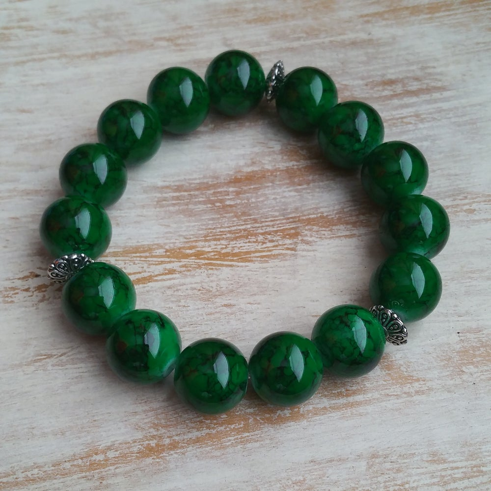 Image of GREEN TIME BRACELET