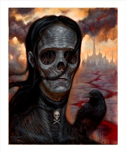 "Image of The Hungry Ghost of Blood Castle- 8x10"" Open Edition"