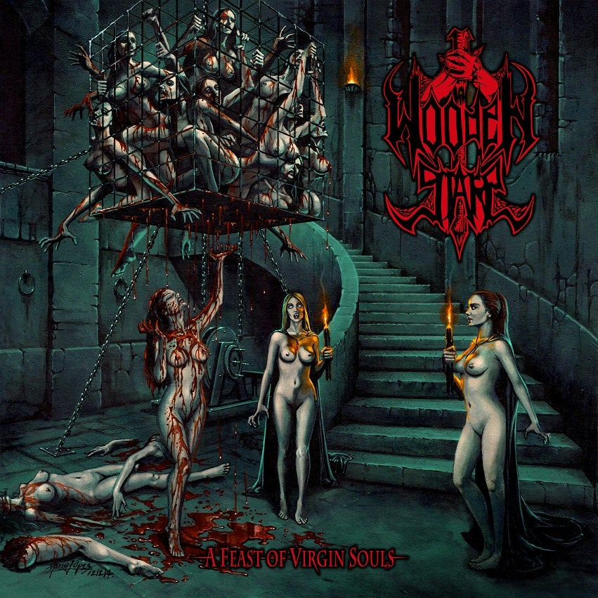 "Image of WOODEN STAKE ""A Feast of Virgin Souls"" CD"