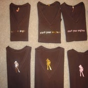 Image of Chocolate V-Neck Shirt