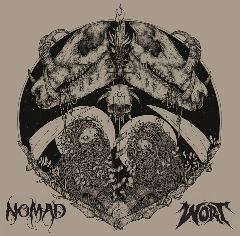 Image of Nomad - Wort : Split CD