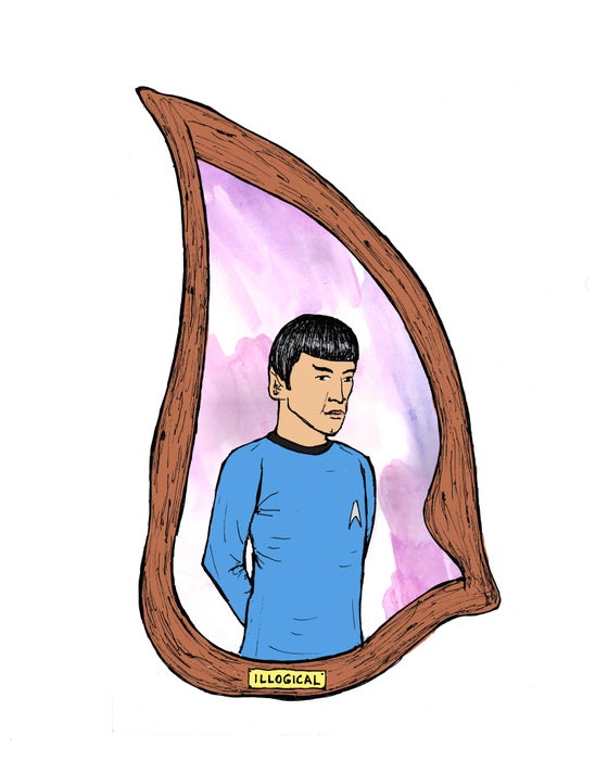 "Image of ""Highly Illogical Portrait"""