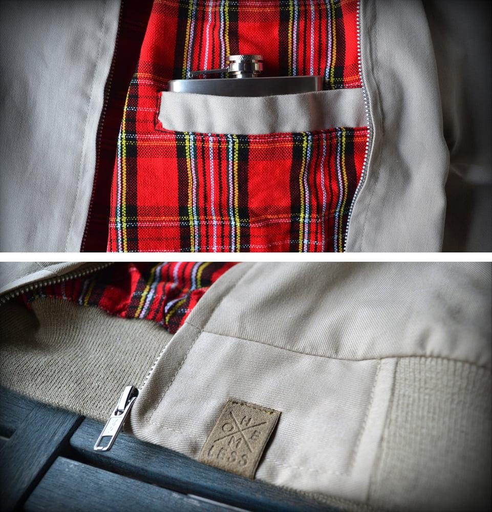 Image of Harrington Jacket Beige