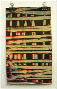 "Image of MJL ""Small Print Squares"" Art Print"