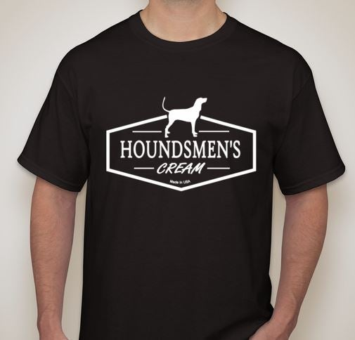 Image of Houndsmen's Cream Black Tee
