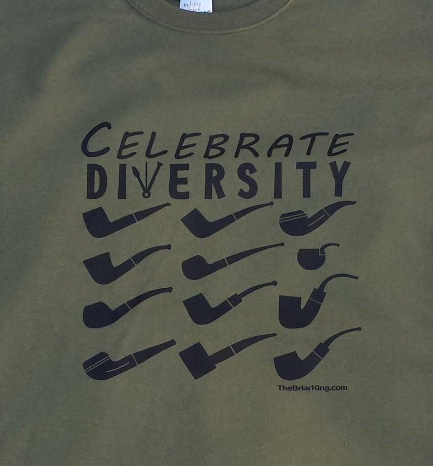 Image of Pipe T Shirt - Celebrate Diversity