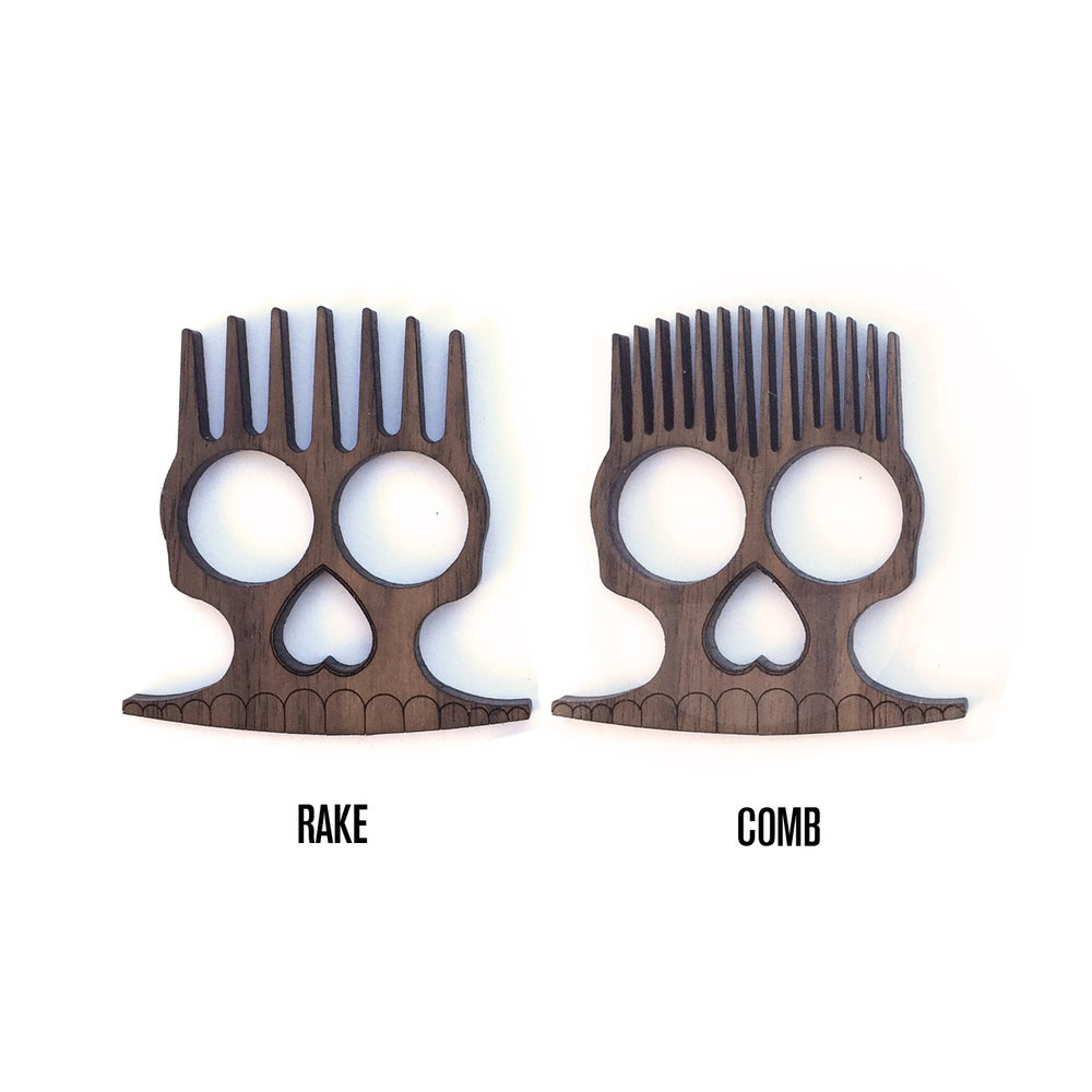 Image of BadWolf 'Hessian' Beard Comb
