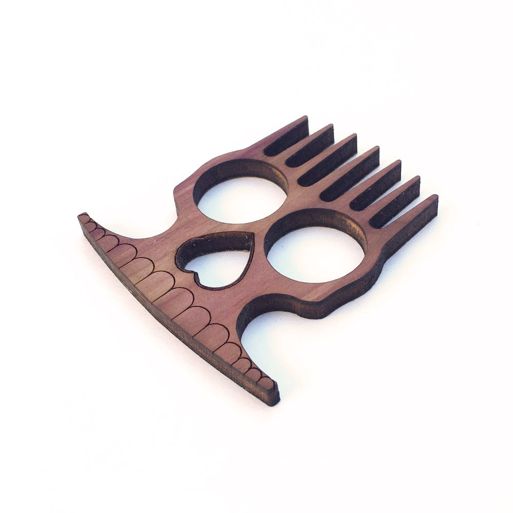 Image of BadWolf 'Hessian' Beard Rake