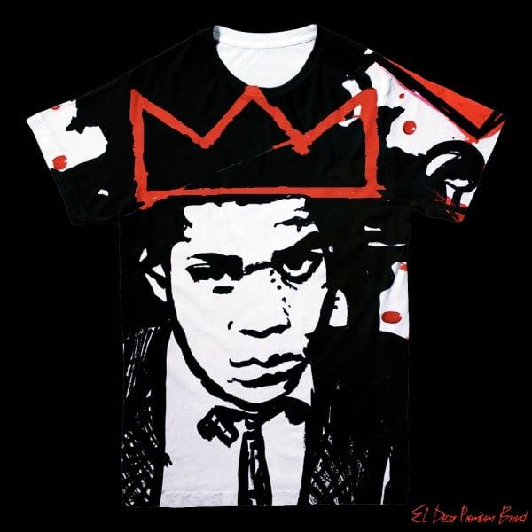 Image of Basquiat Still King T-Shirt