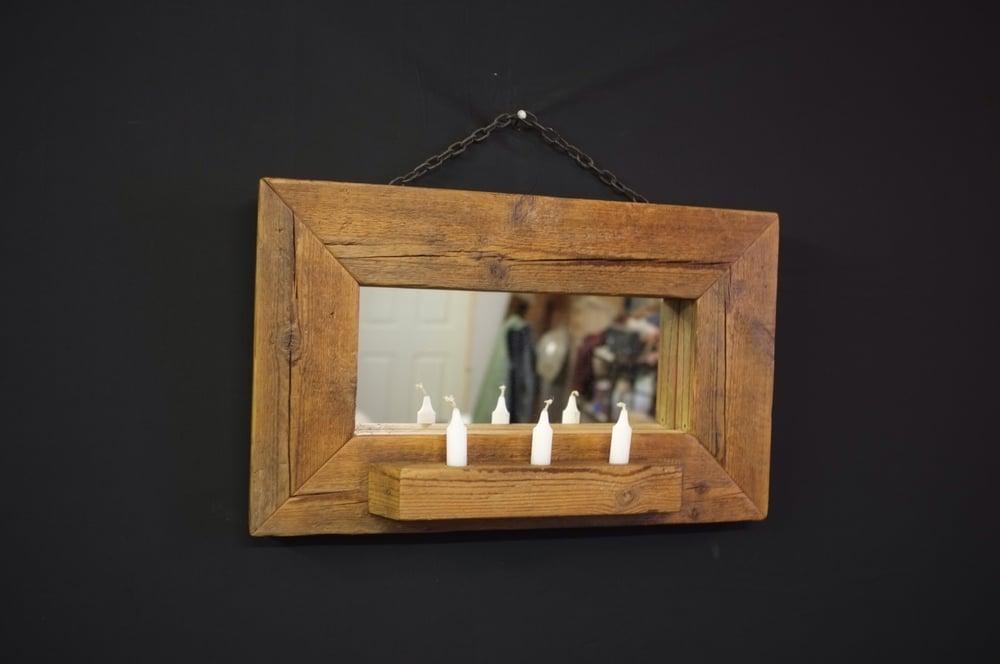 Image of Vintage 'Joist Mirror'