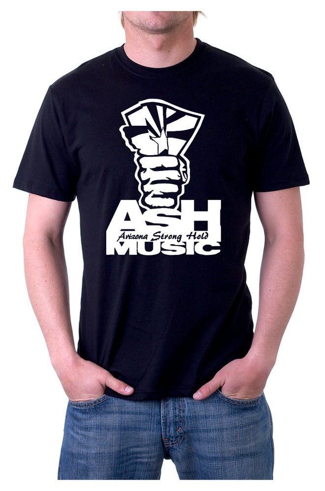 Image of Black- Men's ASH Music T