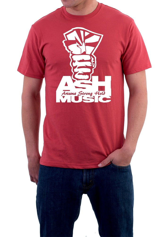 Image of Red- Men's ASH Music T