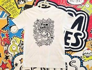 "Image of Tom Gates ""Yo!"" Kids Childrens Short Sleeve T-Shirt"