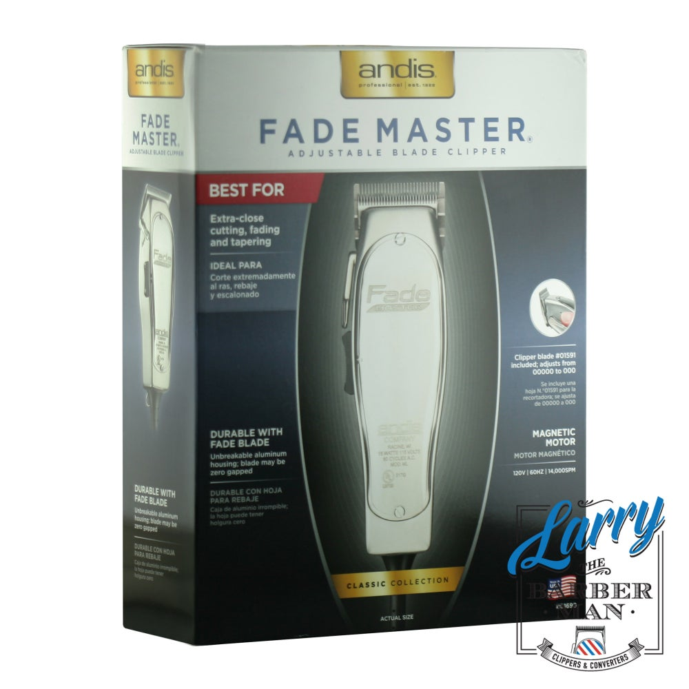 Image of Andis Excel Ultra Professional Hair Clipper (63120), US Plug Adapter 240v to 110v