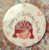 Image of Personalised Princess Badge