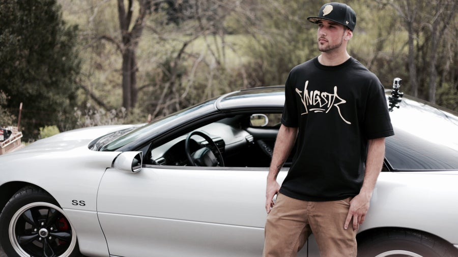 Image of Gold YNGSTR Tag Tee