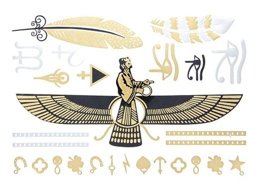 Image of Gold Tattoos