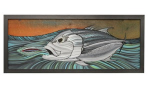 "Image of ""Final Approach"" Giant Trevally Original painting"