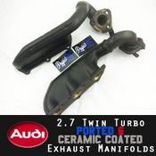 Image of PROJECTB5 - PORTED & CERAMIC COATED 2.7TT EXHAUST MANIFOLDS