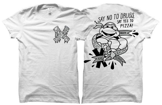 Image of TMNT Straight Edge Tee SOLD OUT!