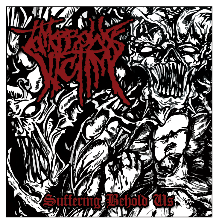 """Image of Tomorrow's Victim """"Suffering Behold Us"""" EP - 2013"""