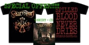 Image of CD Endless Pain COSA NOSTRA + T Shirt COSA NOSTRA