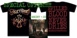 Image of CD Endless Pain COSA NOSTRA + T Shirt COSA NOSTRA