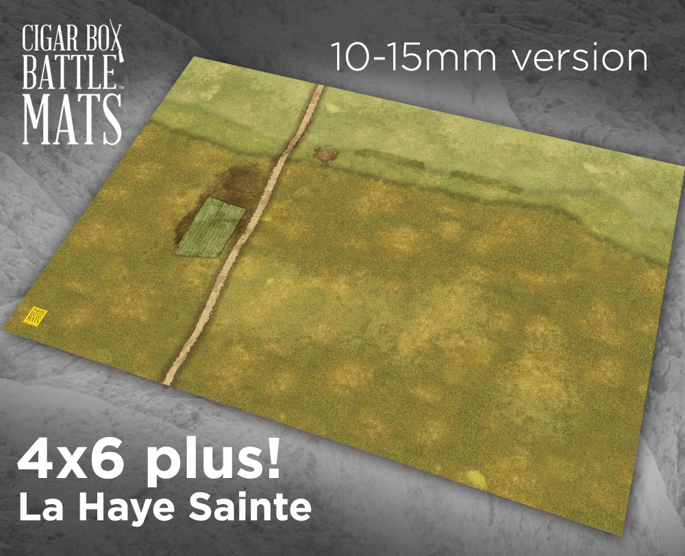 Image of La Haye Sainte -- 4'x6' plus -- #183