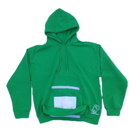 Image of Green hoodie