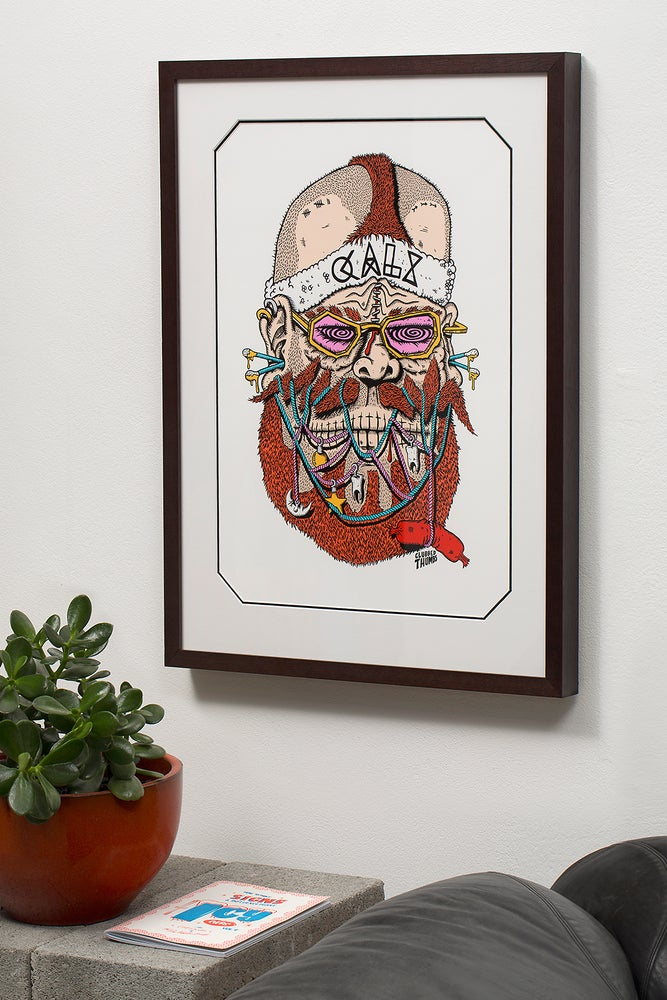 Image of CALX by Clubbed Thumbs || Limited Edition Print
