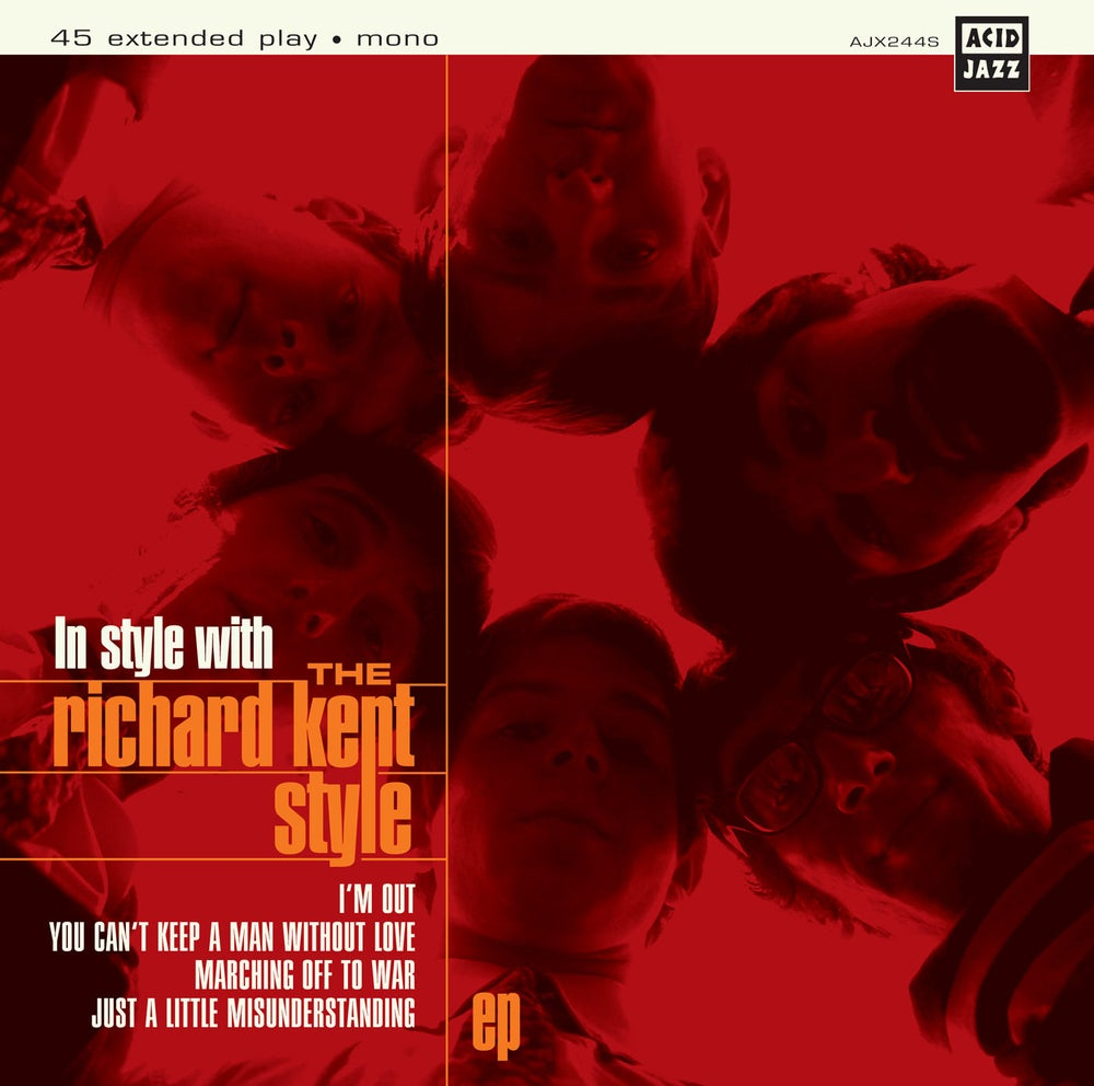 Image of The Richard Kent Style - In Style With... 7""
