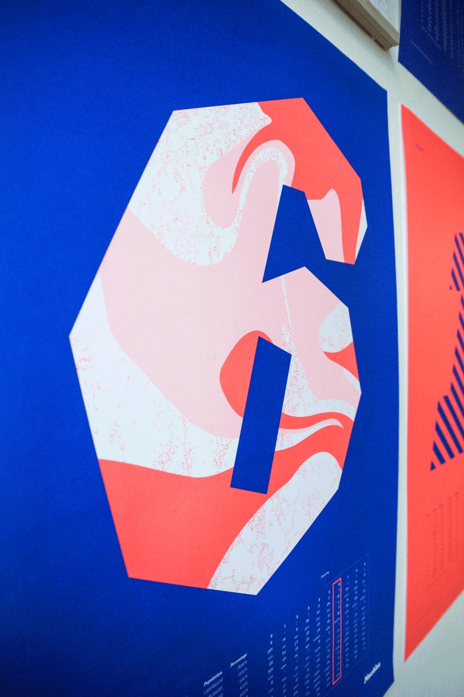 Image of Número Seis · 50×70cm
