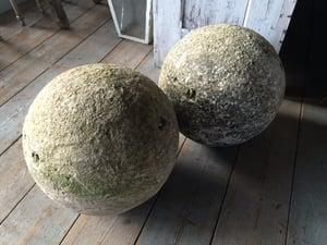 Image of Pr. Antique Stone Balls