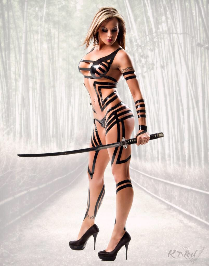 "Image of Velvet Sky ""Warrior"" signed 8x10 photo"