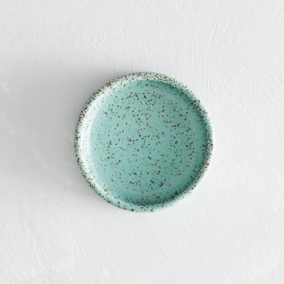 Image of seafoam speckled salt dish 2