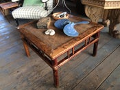 Image of 19th Century Chinese Elm Coffee Table
